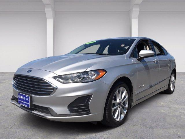 used 2019 Ford Fusion Hybrid car, priced at $21,985