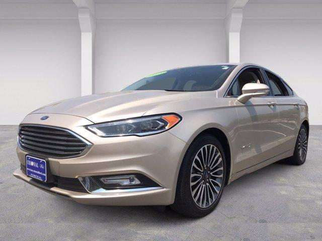 used 2018 Ford Fusion Hybrid car, priced at $21,485