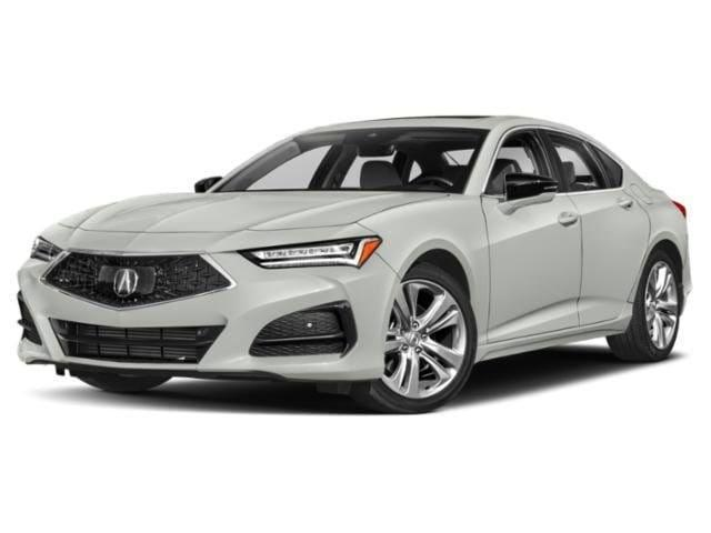 new 2021 Acura TLX car, priced at $41,500