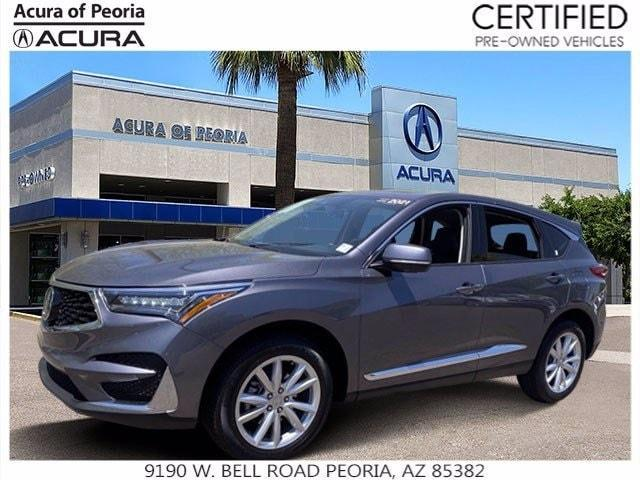 used 2021 Acura RDX car, priced at $33,798