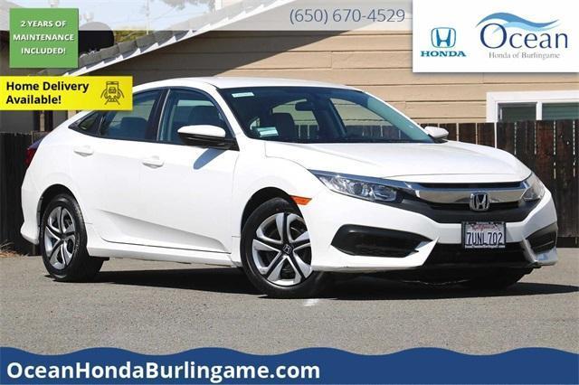 used 2016 Honda Civic car, priced at $17,677