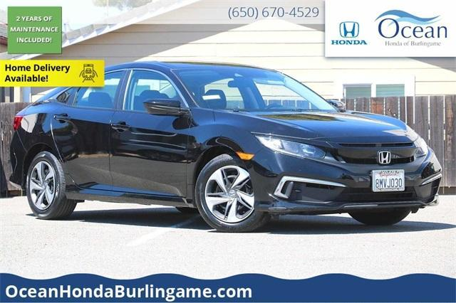 used 2019 Honda Civic car, priced at $21,488