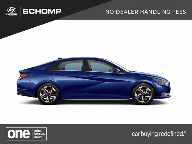new 2021 Hyundai Elantra HEV car