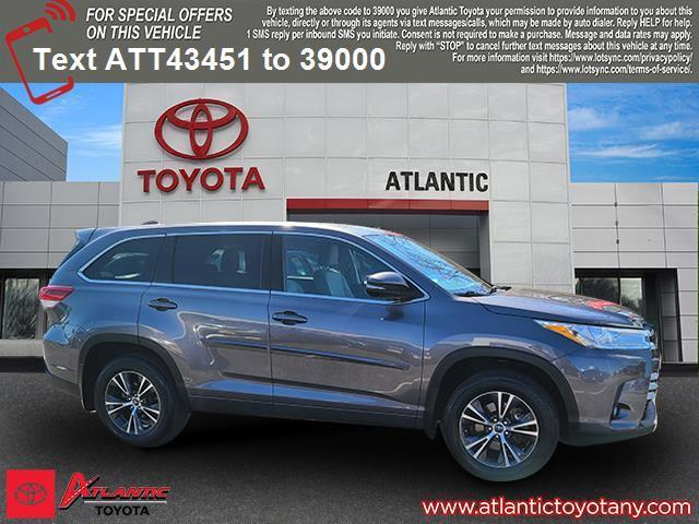 used 2018 Toyota Highlander car, priced at $25,997