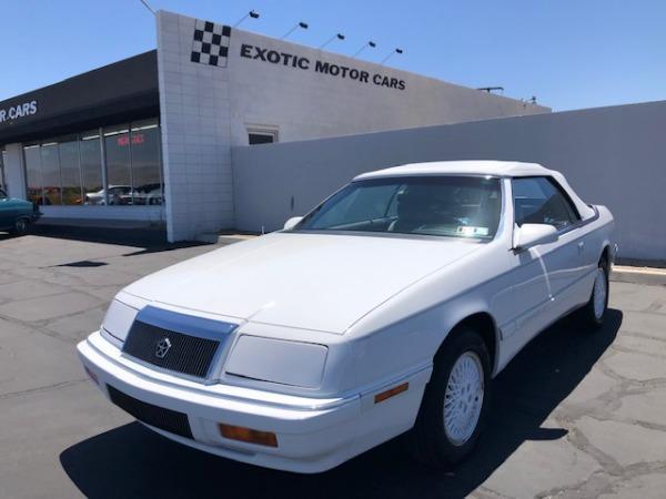 used 1990 Chrysler LeBaron car, priced at $12,900