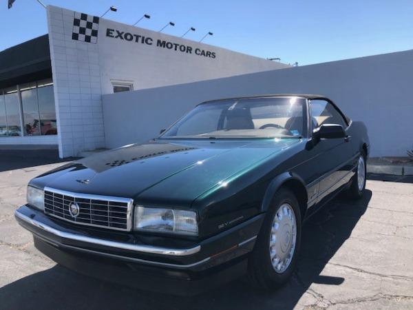 used 1993 Cadillac Allante car, priced at $11,900