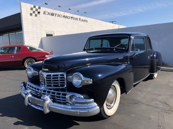 used 1948 Lincoln Continental car, priced at $27,900