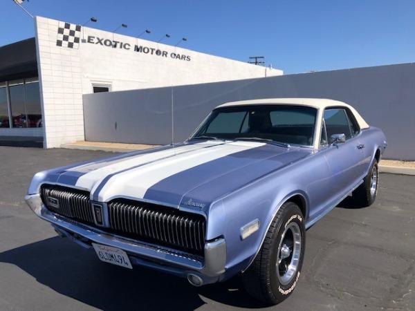 used 1968 Mercury Cougar car, priced at $18,900
