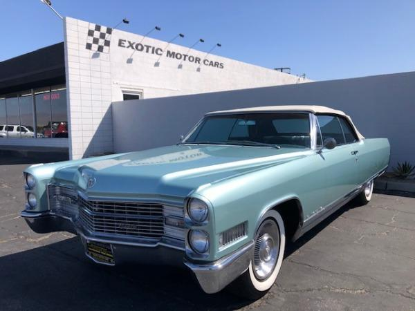 used 1966 Cadillac Eldorado car, priced at $35,900