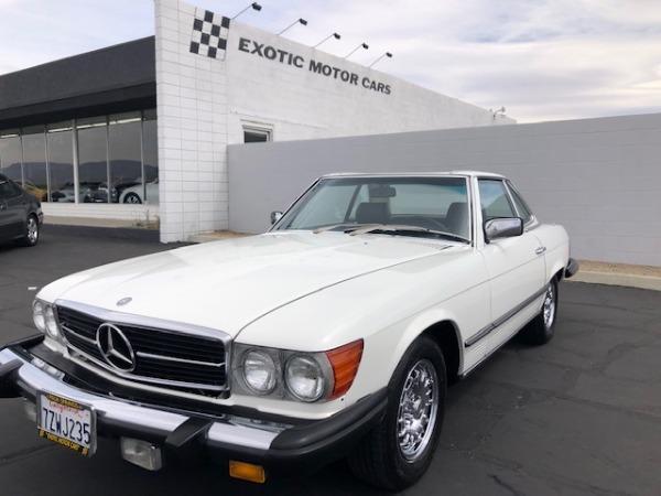 used 1981 Mercedes-Benz 380SL car