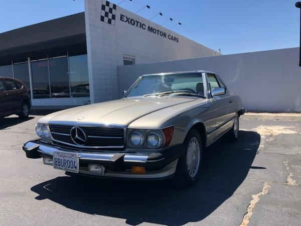 used 1989 Mercedes-Benz SL-Class car, priced at $23,900