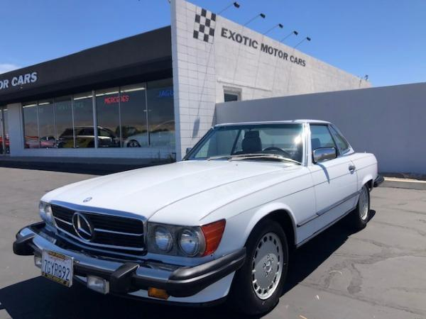 used 1989 Mercedes-Benz SL-Class car, priced at $39,900
