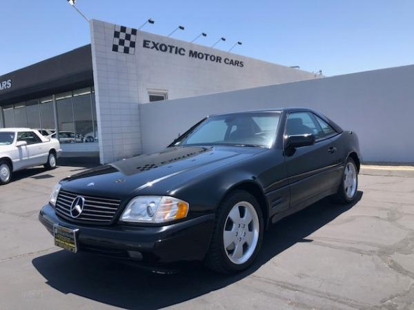 used 1998 Mercedes-Benz SL-Class car, priced at $11,900