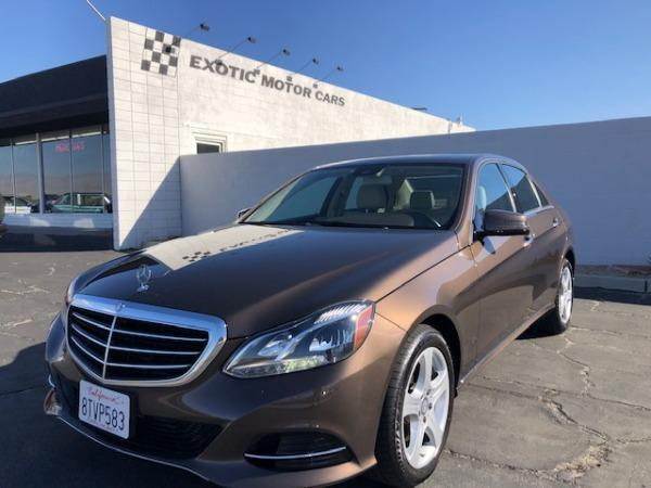 used 2015 Mercedes-Benz E-Class car, priced at $26,900