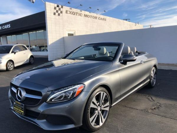 used 2017 Mercedes-Benz C-Class car, priced at $39,900