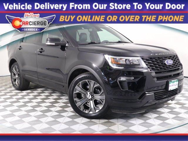 used 2018 Ford Explorer car, priced at $43,990
