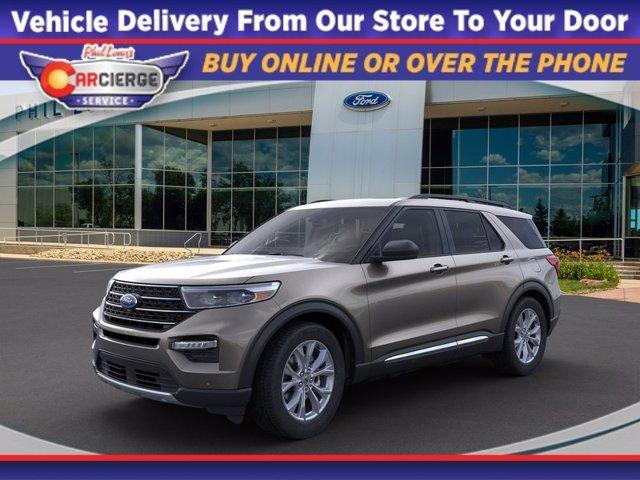 new 2021 Ford Explorer car, priced at $44,020