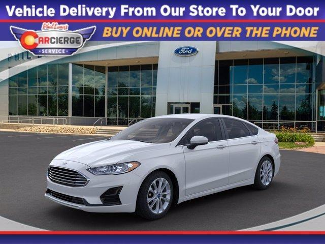 new 2020 Ford Fusion Hybrid car, priced at $26,695