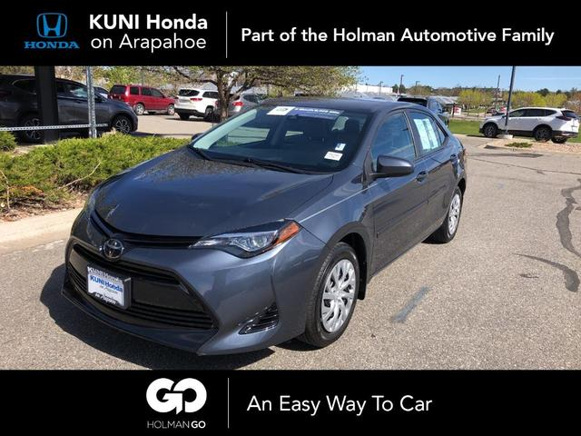 used 2018 Toyota Corolla car, priced at $16,794