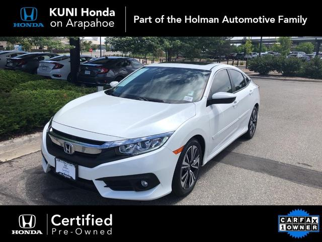 used 2018 Honda Civic car, priced at $21,694