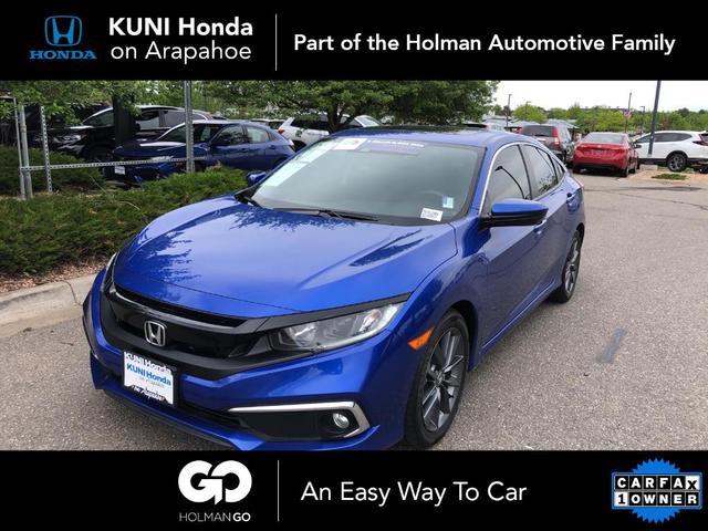 used 2019 Honda Civic car, priced at $19,894