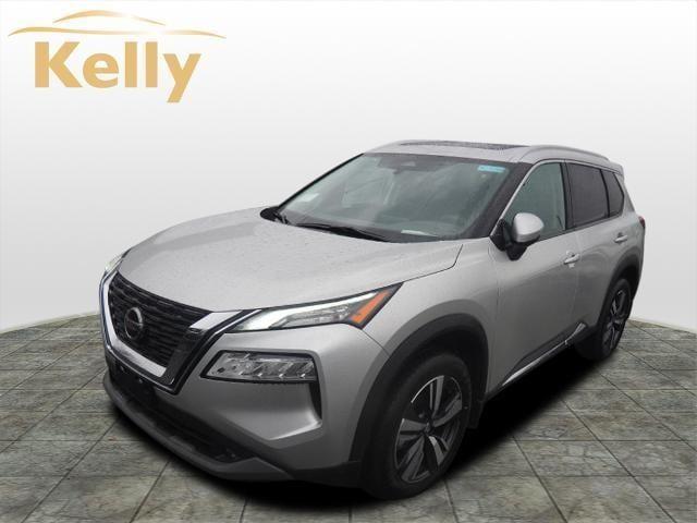 new 2021 Nissan Rogue car, priced at $35,230
