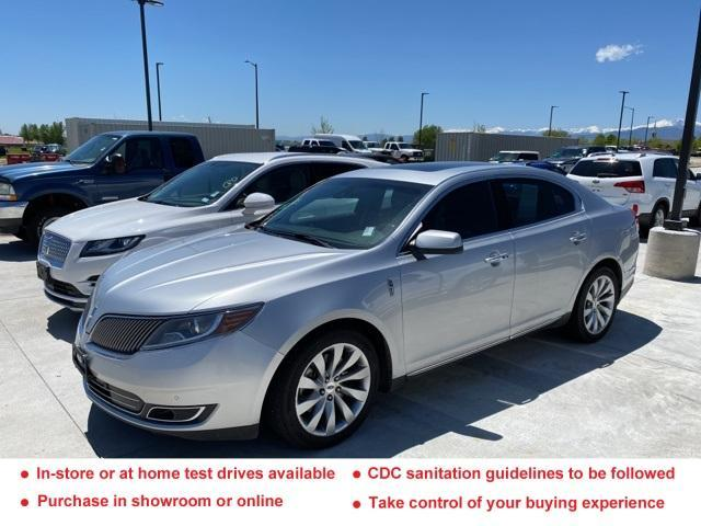 used 2013 Lincoln MKS car, priced at $15,609