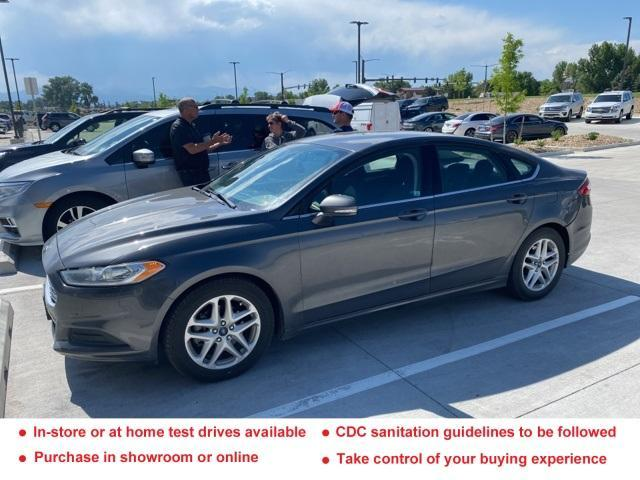 used 2016 Ford Fusion car, priced at $16,347
