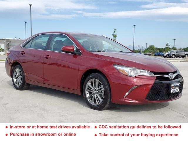 used 2017 Toyota Camry car, priced at $23,083