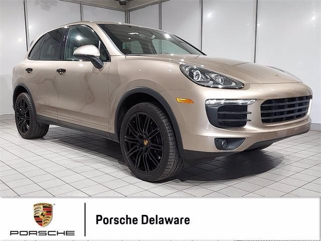 used 2018 Porsche Cayenne car, priced at $49,998