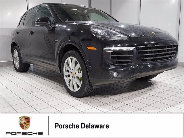 used 2017 Porsche Cayenne E-Hybrid car, priced at $52,998