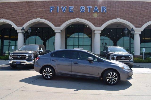 used 2015 Honda Civic car, priced at $17,500