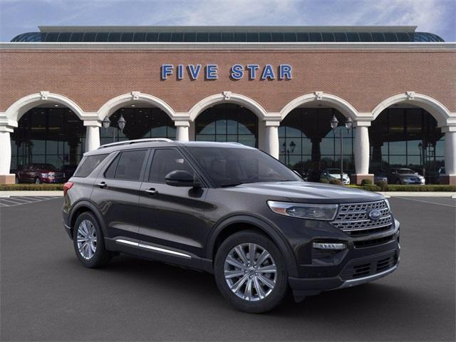 new 2021 Ford Explorer car, priced at $52,807