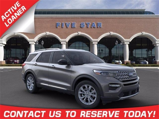 new 2021 Ford Explorer car, priced at $46,246