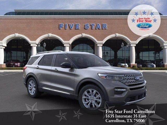 new 2021 Ford Explorer car, priced at $44,700