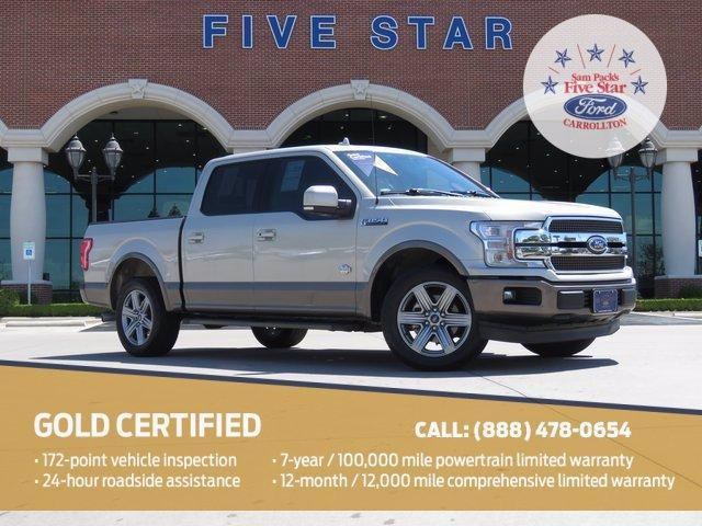 used 2018 Ford F-150 car, priced at $48,500
