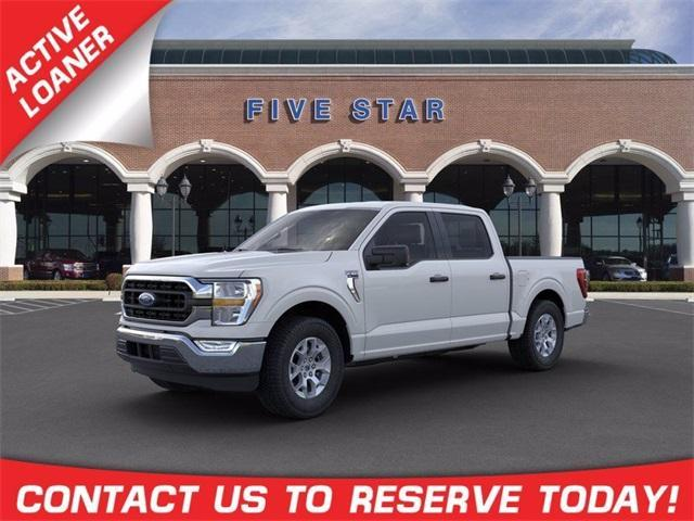 new 2021 Ford F-150 car, priced at $44,121