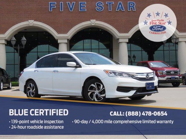 used 2016 Honda Accord car, priced at $17,800