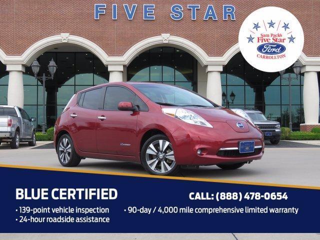 used 2015 Nissan Leaf car, priced at $10,500