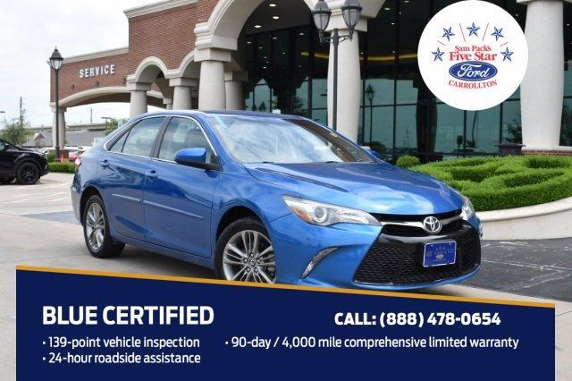 used 2017 Toyota Camry car, priced at $18,500
