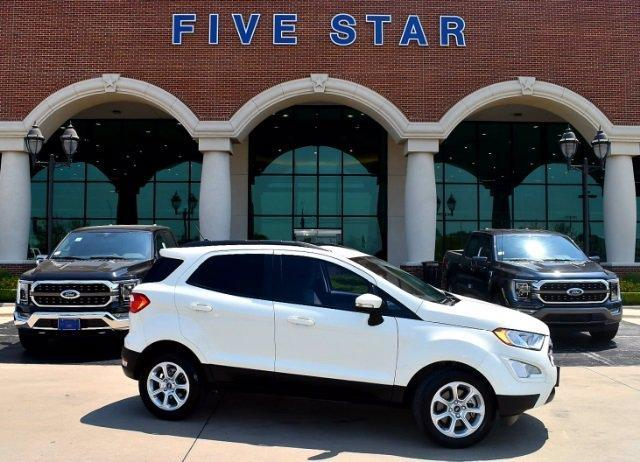 used 2020 Ford EcoSport car, priced at $21,000