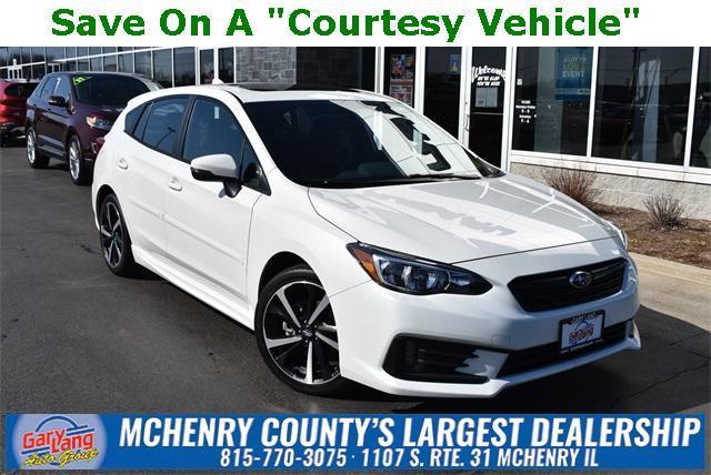 used 2021 Subaru Impreza car, priced at $25,929