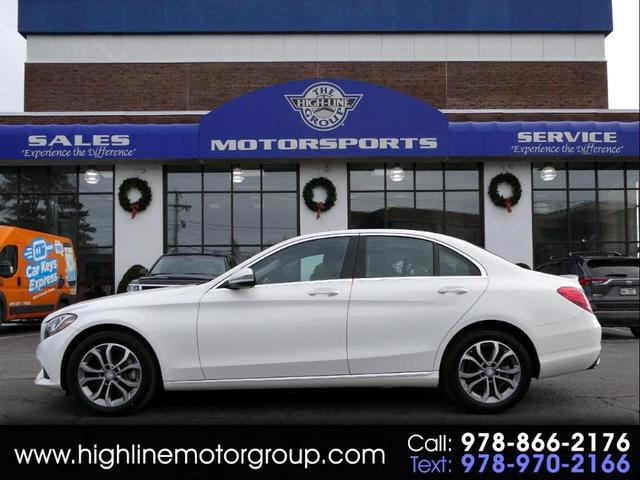 used 2017 Mercedes-Benz C-Class car, priced at $28,590