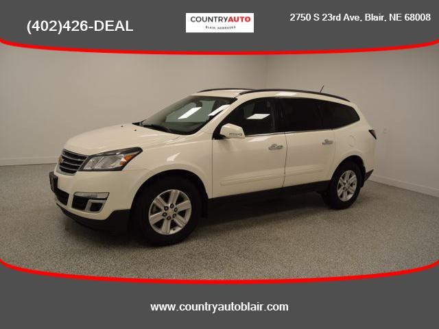 used 2013 Chevrolet Traverse car, priced at $11,998