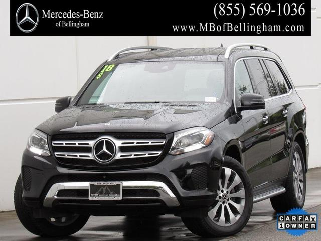 used 2018 Mercedes-Benz GLS 450 car, priced at $59,478