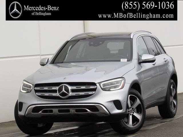 new 2021 Mercedes-Benz GLC 300 car, priced at $55,435