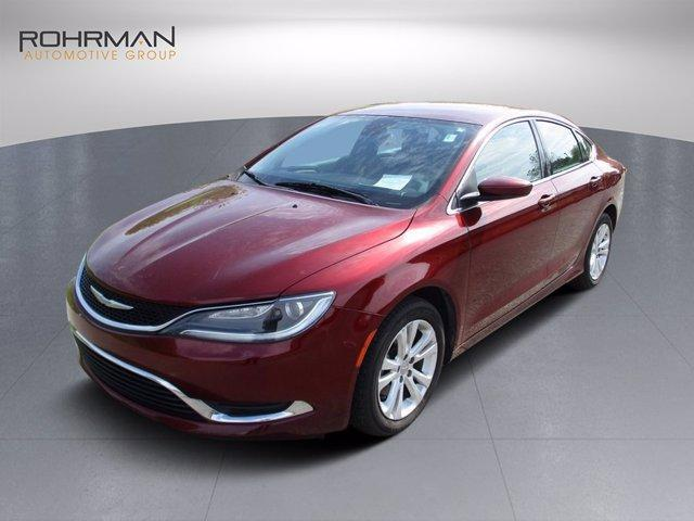 used 2015 Chrysler 200 car, priced at $13,125