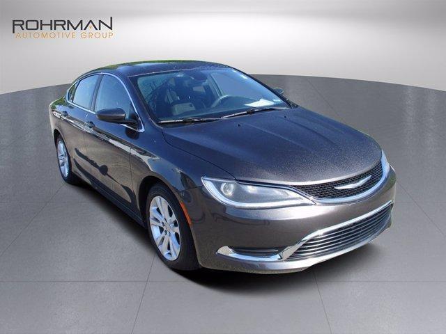 used 2016 Chrysler 200 car, priced at $16,476