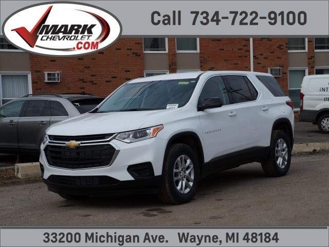 new 2021 Chevrolet Traverse car, priced at $33,519