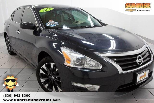 used 2015 Nissan Altima car, priced at $9,986